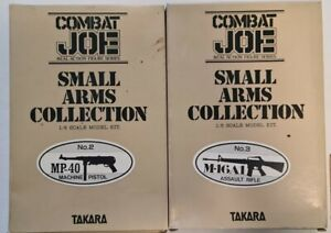 Takara Combat Joe Small Arms Collection MP-40  & M-16A1