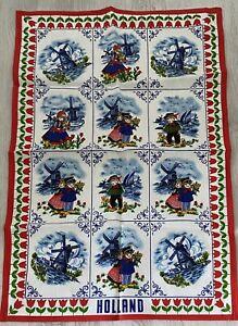 Souvenir Holland Vintage Tea Towel
