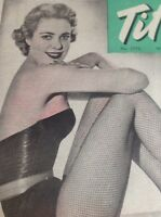 T1-6 Ephemera 1958 Picture Actress Model Marlene Honor
