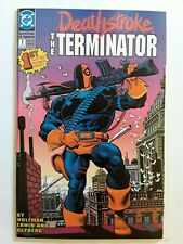 Deathstroke The Terminator. D. C. Comic. First Issue Aug . 1991. G - 6897