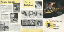 Eastman Kodak Still Projection Equipment 1947 Brochure Projectors Accessories