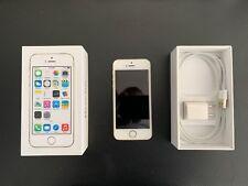Apple iPhone 5s 32GB Silver Unlocked A1533 (CDMA/GSM) iOS 10.2