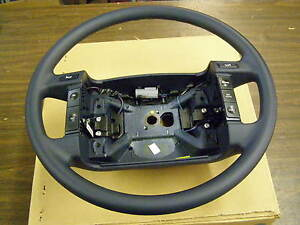 NOS 1992 Lincoln Town Car Blue Steering Wheel OEM Ford