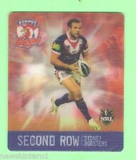 #D536. NRL 2011 RUGBY LEAGUE TAZO #38  NATE MYLES, SYDNEY ROOSTERS