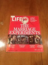 LIFE Magazine The Marriage Experiments April 28 1972