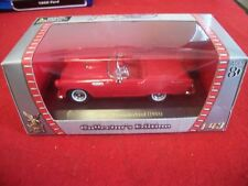 1955 Ford Thunderbird Convertible Road Signature 1/43 Red