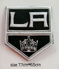 Los Angeles Kings Logo, patches for and sewing on fabric.