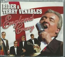 RIDER & TERRY VENABLES - ENGLAND CRAZY / PERFECT 2002 EU CD THREE LIONS EW248CD