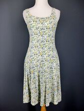 UNIQLO Dress XS S Blue Yellow Spring Floral Built In Sports Bra
