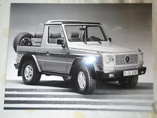 Mercedes Cross Country Press Photo FOLLETO c1990's Ref B 45 625