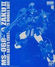 BANDAI MG 1/100 MS-06R-1A ZAKU II ANAVEL GATO'S CUSTOM Ver 2.0 Model Kit Gundam