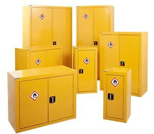 Hazardous Storage Cabinet, COSHH, Flammable Cupboard, Chemical Cabinet, UK Made.