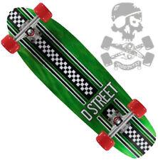 SALE - D STREET - Cruiser Board / Skateboard -  Bomber - Smooth Rolling - Green