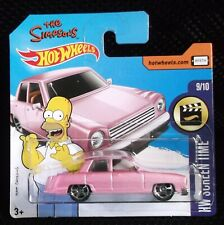 Hot Wheels 2017 HW Screen Time 112/365 The Simpsons Family Car