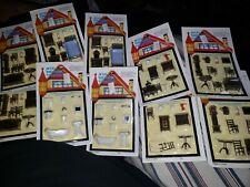Mini Dollhouse Furniture set's 10 total