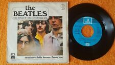 """THE BEATLES Strawbeery fields forever 7"""" SINGLE COLLECTION SPAIN 1967"""