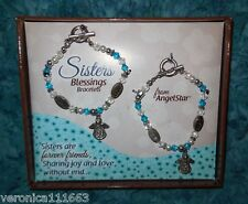 are Forever Friends Angel Charm Love Blessing Bracelets New Boxed Set Sisters