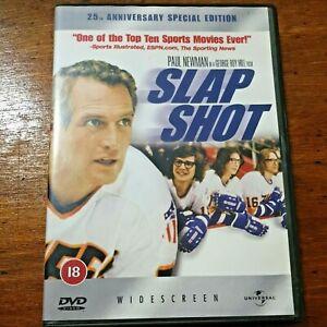 Slap Shot DVD R2, 4 Like New! – FREE POST