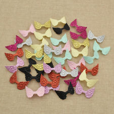 40pcs Angel Wing Embroidered Patches Applique Sewing on Craft Gifts Mixed Color