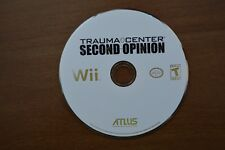 Trauma Center: Second Opinion (Nintendo Wii, 2006) Disc Only