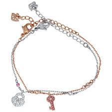 Swarovski Crystal Wishes Lock and Key Bracelet Set 5272251