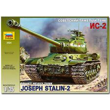 Zvezda 3524 Soviética Heavy Tank Is-2 Modelo Militar Kit 1:35