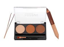 Manna Kadar Brow 7pc Shaping Kit  New in Box & Free Shipping (Valued at $59)