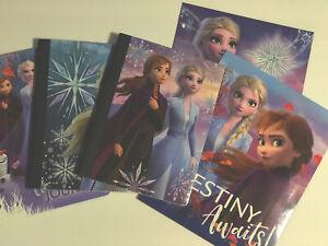 Disney Frozen 2 Notebook, Composition Notebook, Portfolio Folder Set Of 5 school