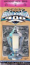 1997 Brickyard 400 Indianapolis NASCAR ticket stub Ricky Rudd Win #19