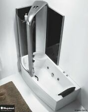 Whirlpool Jacuzzi Bathtube with massage and shower cabin 150 cm 160 cm 170 cm