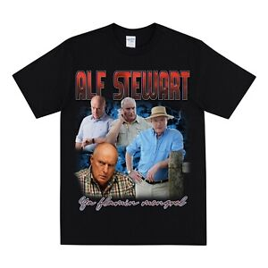 Vintage ALF STEWART - HOME & AWAY Homage T-shirt Funny 90s Tee Men's T-shirts
