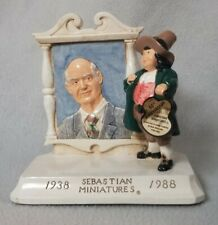 Sebastian Miniatures 50th Anniversary 1988 Signed Number 678 Portrait