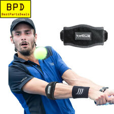 Performance Tennis Golf Elbow Brace Support Strap + Sweat Band Exous