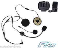 Spare Finnmoto Motorcycle Helmet Mount & HiFi Speakers Mic for Intercom Headset