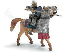 Rider with Spit on Horseback Schleich 70040 New Knight Oriental Rarity