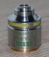 Zeiss Mikroskop Microscope Objektiv LD A-Plan 10x/0,25 Ph1 - M27 Gewinde