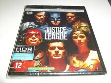 JUSTICE LEAGUE 4K ULTRA HD BLU RAY / DC / DUTCH IMPORT / BRAND NEW & SEALED