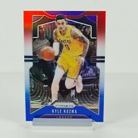 Kyle Kuzma Panini Prizm Red White Blue 2019-2020 #130 LA Lakers NBA Sports Card