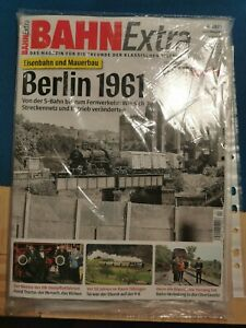 Bahn EXTRA BAHN EPOCHE 04.2021 JULI AUGUST BERLIN 1961