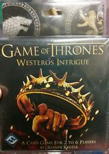 Game of Thrones: Westeros Intrigue Card Game - Fantasy Flight. NEW AND SEALED.