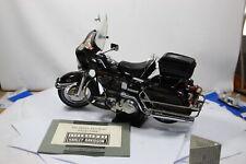 Franklin Mint Harley-Davidson Electra-Glide Schwarz 1:10 siehe Fotos No Box