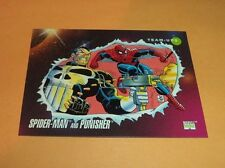 Spider-Man and Punisher # 73 1992 Marvel Universe Series 3 Base Trading  Card