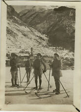 PHOTO ANCIENNE - VINTAGE SNAPSHOT - MILITAIRE CHASSEUR ALPIN MONTAGNE-MILITARY 3