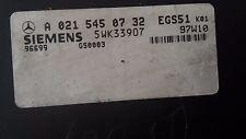 Mercedes Getriebe Steuergerät Siemens A 021 545 07 32 / 290 TD E 210
