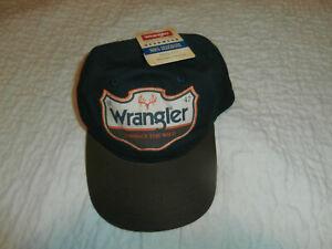 WRANGLER Jeans 1947 Adjustable Strapback Hat Cap Stitched Patch