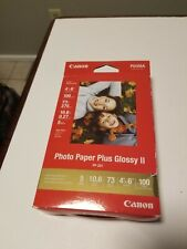 Canon Photo Paper Glossy II, PP-201, 100 Sheets, New