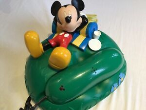 Vintage Disney's Mickey Mouse Phone by Mybelle Collectible Picnic Version
