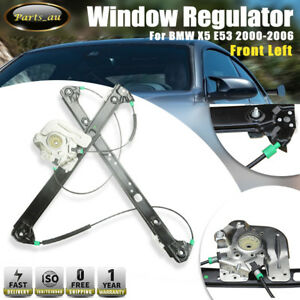 1x Front Left Window Regulator without Motor for BMW X5 E53 00-06 51338254911