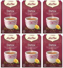 Yogi tea detox tea - 17 sachets (pack de 6)