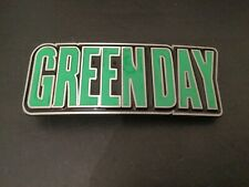GREENDAY Writing Logo Rock Music New BELT BUCKLE New Metal Pewter